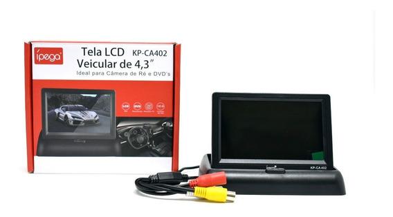Tela Lcd Veicular De 4.3 Polegadas.