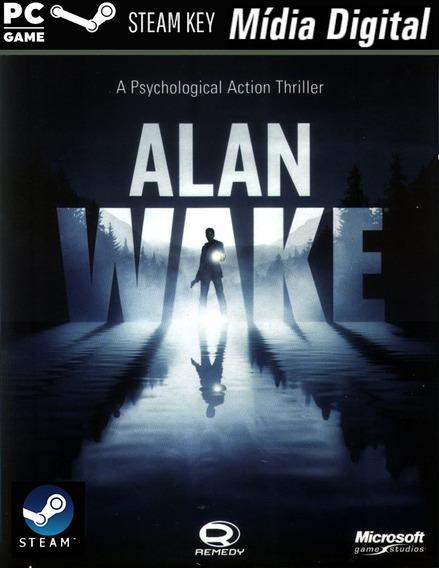 Pc Alan Wake - Steam Key- Mídia Digital Jogo Para Computador