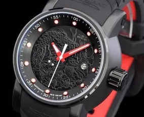 Relógio Masculino Invicta Yakuza S1 Dragão Automático Preto