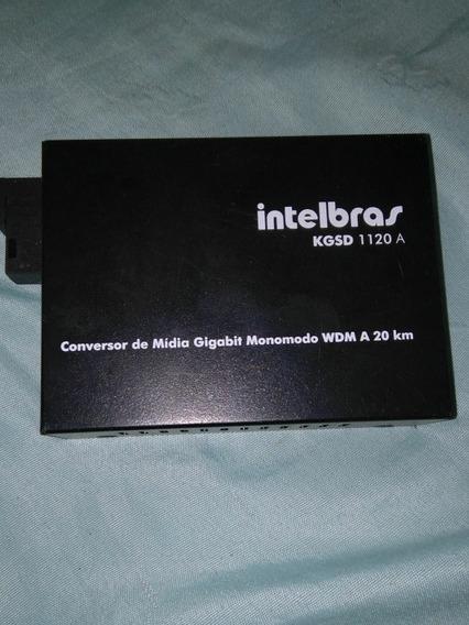 Conversor De Midia Intelbras Monomodo Kgsd1120a