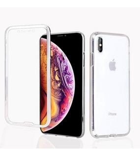 Capa Silicone Proteção 360° iPhone 7 P Capinha Anti Impacto