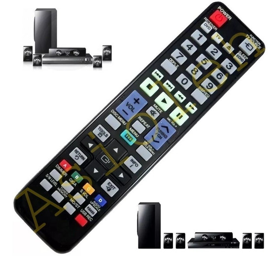 Controle 7034 Serve Todo Home Theater Ht Samsung Dvd Karaoke