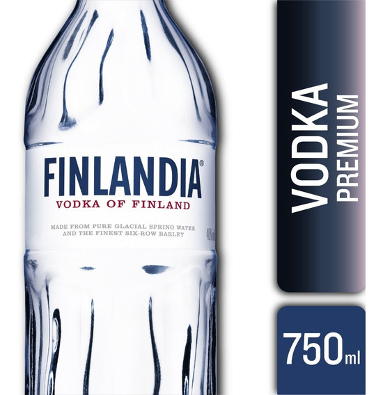 Vodka Finlandia Original 40° 750ml