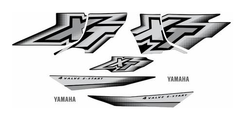 Kit Adesivos Yamaha Xt600 2000 À 2002 Preta 00749