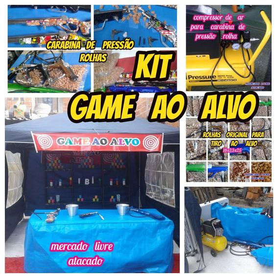 Tiro Ao Alvo Game Kit Completo Para Vc Montar Em Seu Buffet