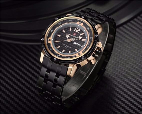 Relógio Masculino Naviforce Nf9073-8 Original 2 Cores
