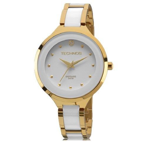 Relógio Feminino Technos Cerâmica Safira 2035lyw/4b