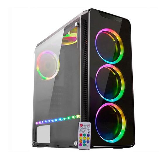 Pc Gamer Moba Intel I5 8gb 2tb Rx 570 4gb 500w Promoção