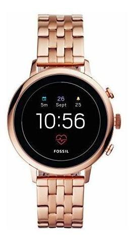 Reloj Inteligente Fossil Para Mujer Gen 4 Venture Hr, De Ace