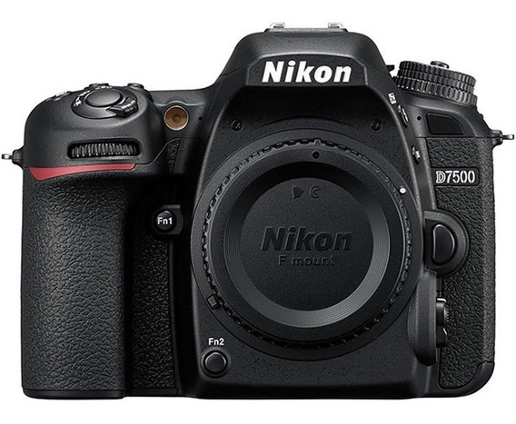 Nikon D7500 Corpo 20.9mp Nota Fiscal