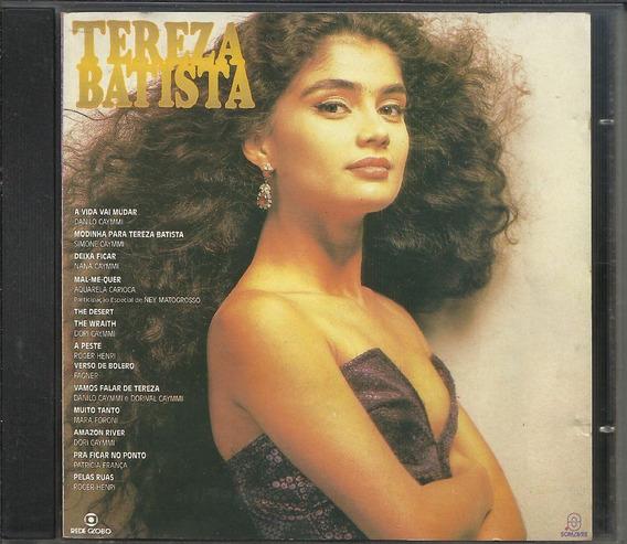 Cd Teresa Batista Cansada De Guerra Trilha Série 1992