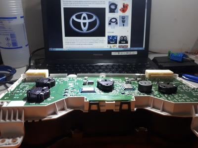 Painel Hilux....conserto Marcador De Combustível Hilux E Sw4