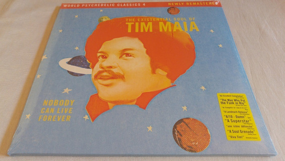 Lp Tim Maia The Existential Soul Of Tim Maia [pronta-entreg]