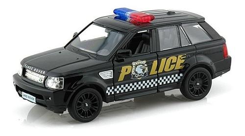 Perudiecast Land Rover Range Rover Police Rmz City Esc.1.36