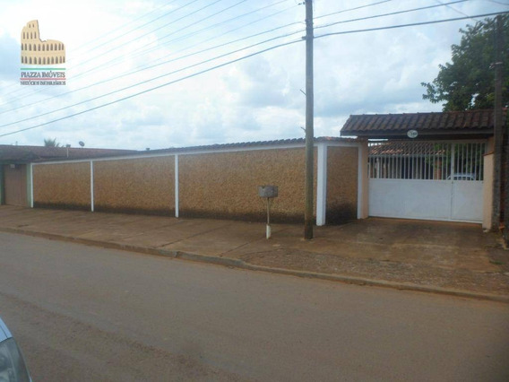Chácara Com 2 Dormitórios Para Alugar, 1000 M² Por R$ 1.400,00/mês - Bosque Dos Eucaliptos - Araçoiaba Da Serra/sp - Ch0036