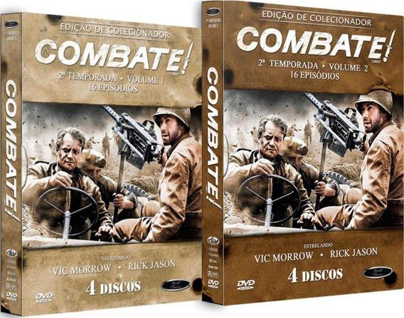 Boxes Dvd Combate! 2ª Temporada Vols. 1 E 2 Lacrados!