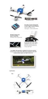 Drone Dualsky Hornet 460 Arf