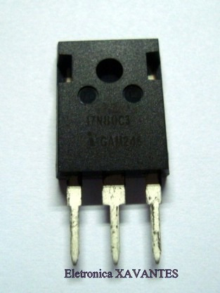 Transistor Spw17n80c3 Fet Som LG #23083