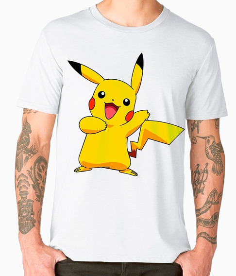 Playera Cleen Alexer Pokemon Pikachu Mod 3