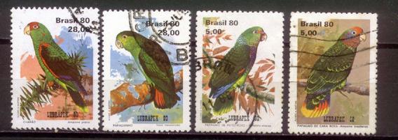 Papagaios - Série De Selos Brasileiros - 4424