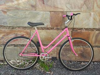 Bicicleta Rodado 24 Fixie Paseo Carrera