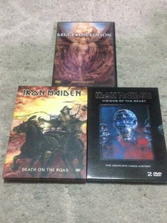 Iron Maiden, Dvds De Música