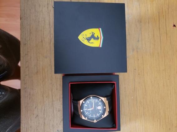 Relógio Ferrari Original Na Caixa Garantia Vitalícia Lindo