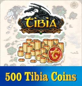 Tibia Coins (500 Tc) Transferível ( Todos Servidores )