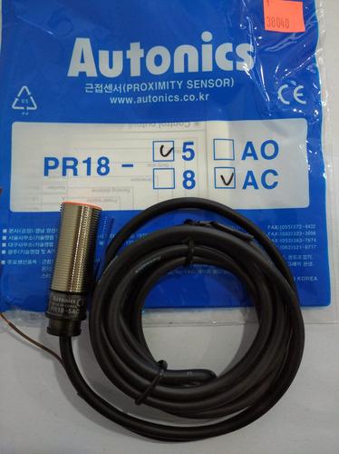 Sensor Inductivo Pr18-5ac Autonics