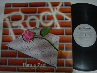 Rock Para Paz Lp
