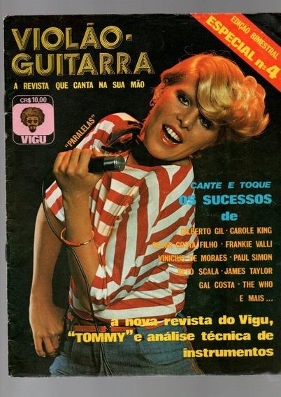 Revista Vigu Violão E Guitarra Cante E Toque Raridade 1976