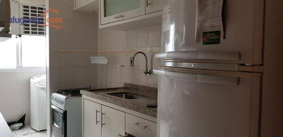 Apartamento 3 Dormitórios, Suite, Mobiliado, Jardim Das Colinas - Ap7167