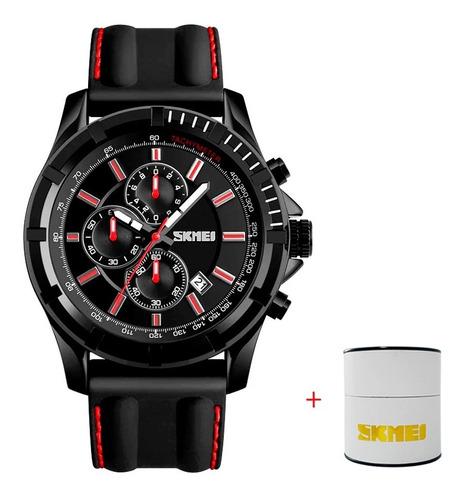 Relógio Masculino Original Preto C/ Resistência Água Confira