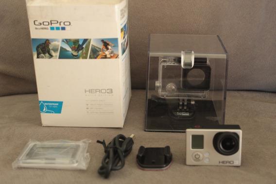 Camera Gopro Hero3 White Edition Frete Gratis Otima Go Pro