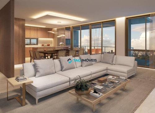 Apartamentos Para Venda Com 178 Metros Quadrados No Cambuí Em Campinas - Sp. - Ap2402