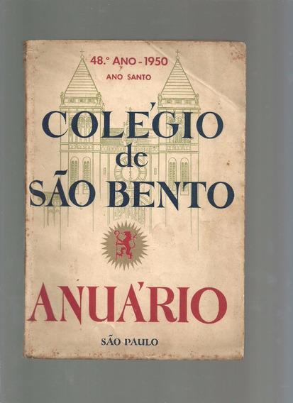 Anuário Colégio De São Bento São Paulo De 1950 Raro - B6