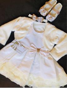 Vestido Infantil - Kit Baby
