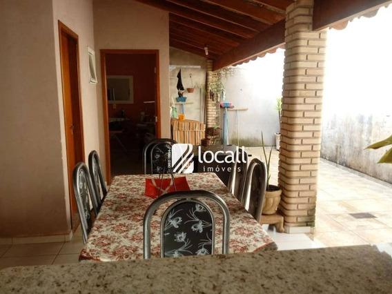 Casa Residencial À Venda, Regissol, Mirassol. - Ca0324
