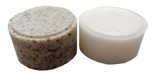 Imagen 1 de 2 de Kit Shampoo Y Bálsamo Sólido  Anticaspa