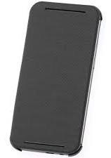 Estuche Htc M8 Flip Case Gris, Originales Htc