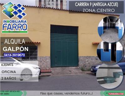Alquiler De Galpón Sector Centro Al01-0013ca-ro