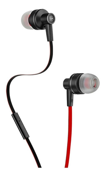 Fone Ouvido Auricular Pulse Vermelho/preto Multilaser Ph154
