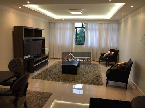 Imagem 1 de 17 de Apartamento À Venda, 151 M² Por R$ 950.000,00 - Boqueirão - Santos/sp - Ap1689
