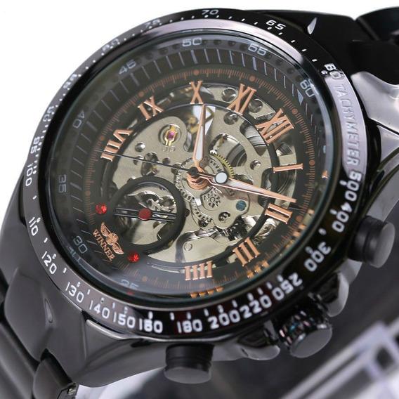 Relógio Mecânico Feito A Mão