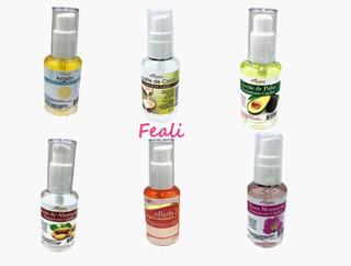 6 Aceite De Argan 30ml Flora / Coco/ Almendra/ Rosa /palta
