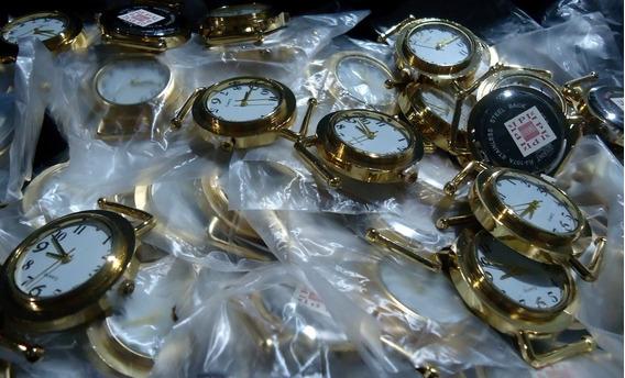 Relógios Tirar Máquinas Criar Pulseiras Artesanato Kit 10