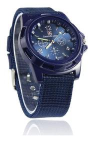 Relógio De Pulso Gemius Army Pulseira De Nylon Masculino