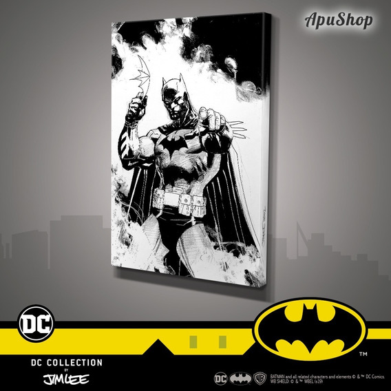 Cuadros Canvas 60x40 Dc Comics Oficial Jim Lee Batman Joker