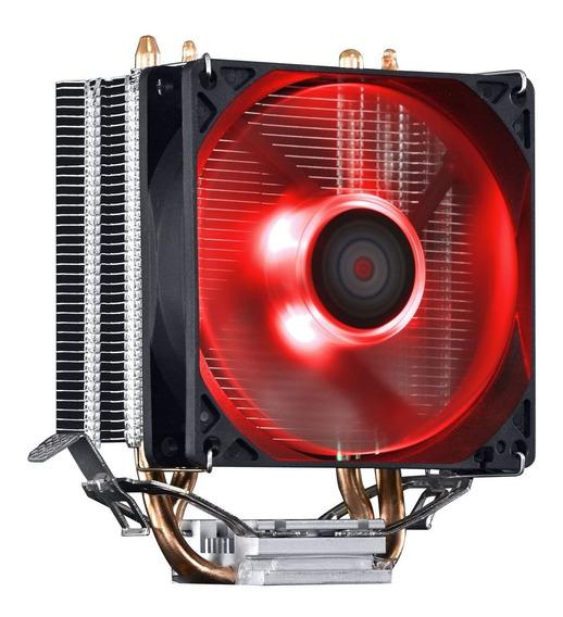 Cooler Zero K Z2 Led Neon Vermelho P/ Cpu Amd Am4 Ryzen