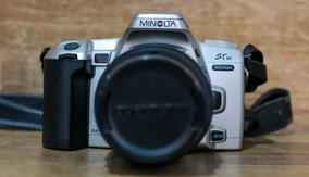 Câmera Fotográfica Minolta St Si Maxxum Lente 28-90mm